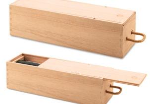 Cutie lemn vin